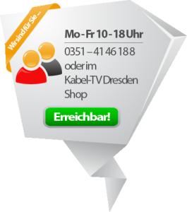 KabelTV Dresden Erreichbarkeit